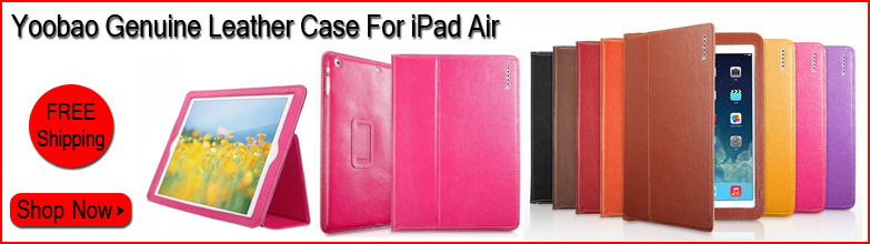 Yoobao Ultra-thin Genuine Executive Leather Case for iPad Air