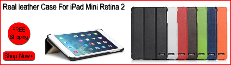 Real Leather Cases for iPad Mini 2 Retina
