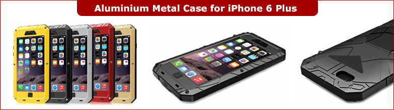 Aluminum Cases for iPhone 6 Plus 5.5inch
