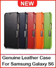 Genuine Leather Case For Samsung Galaxy S6