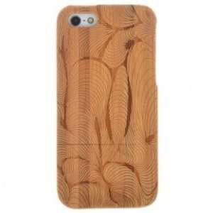 100% Real Bamboo Hard Shell Case Cover for Apple iPhone 5 5S SE Luxury