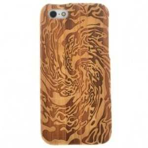 Real Natural Handmade Hard Bamboo Case Cover Protective Shell for iPhone 5 5S SE