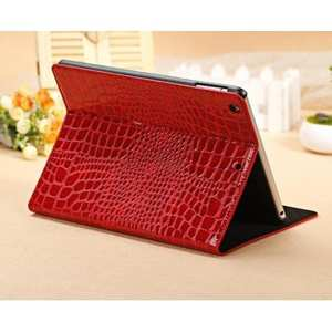 For iPad 7th Gen 10.2 inch Mini 5 Crocodile Magnetic Wallet Leather Stand Case Cover