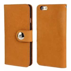 Head Layer Cowhide Wallet Leather Case For iPhone 6 Plus/6S Plus 5.5inch