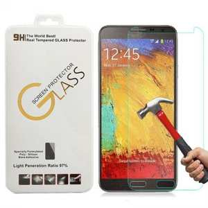 9H Premium Real Tempered Glass Screen Protector Film Guard For Samsung Galaxy Note 3
