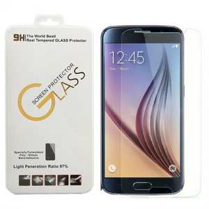 Premium Real Tempered Glass Screen Protector Guard for Samsung Galaxy S6