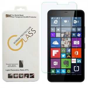 Ultra Thin 9H Hardness 2.5D Round Edge Tempered Glass Screen Protector For Microsoft Lumia 640 XL