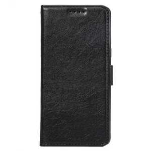 Crazy Horse PU Leather Flip Stand Card Slot Case for Samsung Galaxy Note 7 - Black