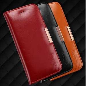 KLD Royale II Series Genuine Leather Wallet Case Cover for iPhone 7 Plus 5.5 Inch