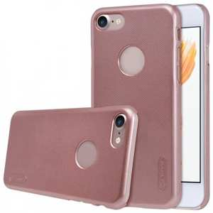 NIllkin Frosted Shield Matte PC Plastic Hard Cover Case For iPhone 7 Plus 5.5 inch - Rose Gold