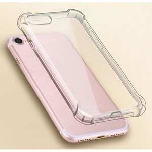 Slim Clear Soft TPU Shockproof Protector Cover Case for Apple iPhone 7 Plus