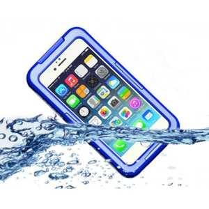 Waterproof Shockproof Dirtproof Hard Case Cover for iPhone 7 Plus 5.5 inch - Blue