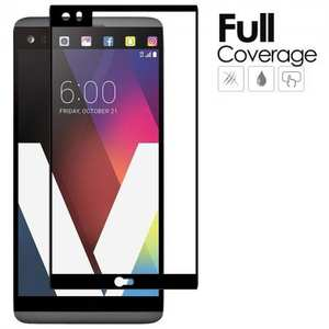 Full Screen Coverage Anti-Scratch Tempered Glass Screen Protector for LG V20
