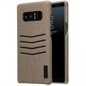 Nillkin Classy Card-Slot Faux Leather Case Cover for Samsung Galaxy Note 8 - Brown