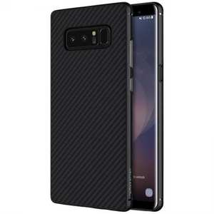 Nillkin Ultra Slim Light Carbon Fiber Case Cover for Samsung Galaxy Note 8 - Black
