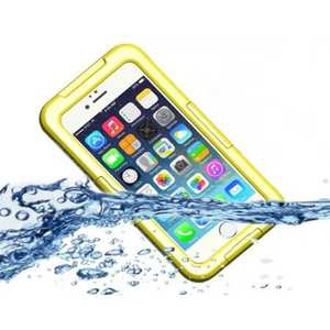 Waterproof Shockproof Dirtproof Hard Case Cover for iPhone 8 Plus 5.5 inch - Yellow