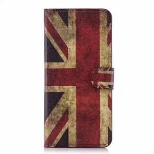 Retro UK Flag Pattern Wallet Style Stand Leather Case For Samsung Galaxy S9 Plus