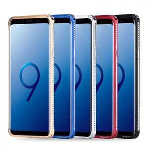 Shockproof Aluminum Metal Bumper Stand Case for Samsung Galaxy S9