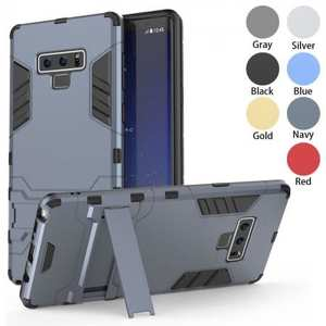 Case for Samsung Galaxy Note 9 Case with Kickstand Hybrid Protective Hard Back Cover