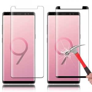 For Samsung Galaxy Note 9 3D 9H Full Cover Tempered Glass Screen Protector Film