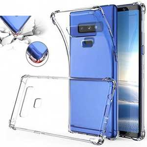 For Samsung Galaxy Note 9 Clear Shockproof Slim TPU Cover Case