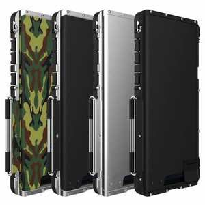 R-Just Metal Shockproof Powerful Flip Case Cover For Samsung Note 9 S9 S8 Plus