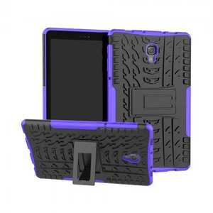 Dual Layer Protection Shockproof Cover Hybrid Rugged Case with Kickstand for Samsung Galaxy Tab A 10.5 [SM-T590/SM-T595] - Purple