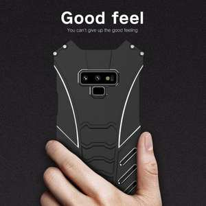 For Samsung Note 9 S9 Plus R-JUST Shockproof Bumper Protective Metal Case Cover