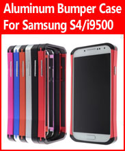 Aluminum Bumper Case For Samsung Galaxy S4 IV/i9500