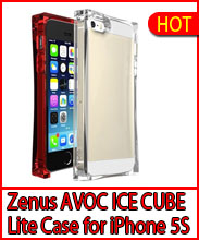 Zenus Avoc ICE CUBE Lite Cover Case for iPhone 5/5S
