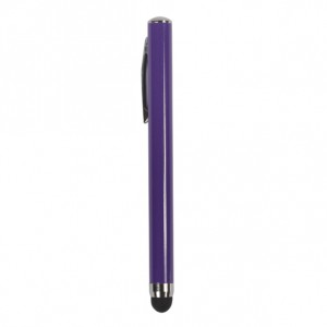 Sweet Rubberized Touch Point Stylus for iPad 1,iPad 2 and The New iPad - Violet