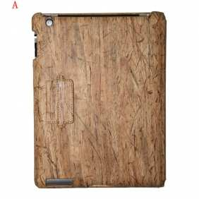 Classical Wood Grain Design Cover for Apple the New iPad 3