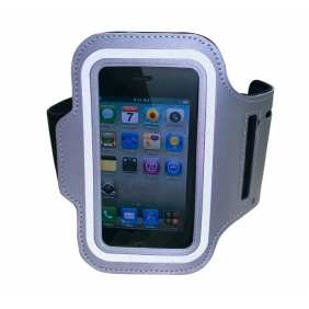 Sport Armband Arm Strap Cover Case Holder For iPhone 5 5S - Grey