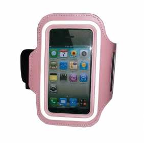 Sport Armband Arm Strap Cover Case Holder For iPhone 5 5S - Pink