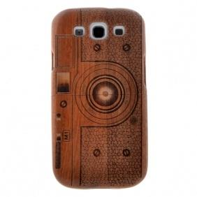 Real Natural Wood Wooden Case Cover For Samsung Galaxy S3 SIII i9300 Camera