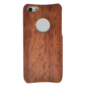Luxury 100% Real Natural Walnut Wood Wooden Case Cover for iPhone 5 5S SE