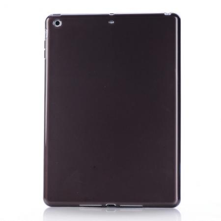 High Quality Soft TPU Gel Back Cover Case for iPad Air - Black