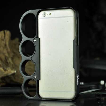 Aluminum Metal Knuckle Ring Bumper Case Frame Protector
