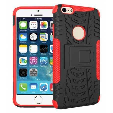 Heavy Duty Durable Case Cover Stand For iPhone 6 Plus/6S Plus 5.5inch - Red