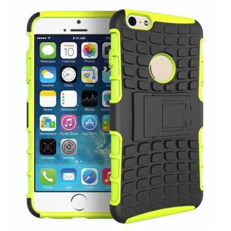 Heavy Duty Strong Hard TPU Case Cover Stand For iPhone 6 Plus/6S Plus 5.5inch - Green