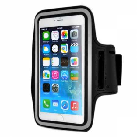 Sports Running Armband Case Cover For iPhone 6 Plus/iPhone 6S Plus 5.5inch - Black
