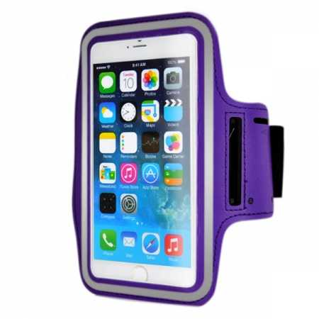 Sports Running Armband Case Cover For iPhone 6 Plus/iPhone 6S Plus 5.5inch - Purple