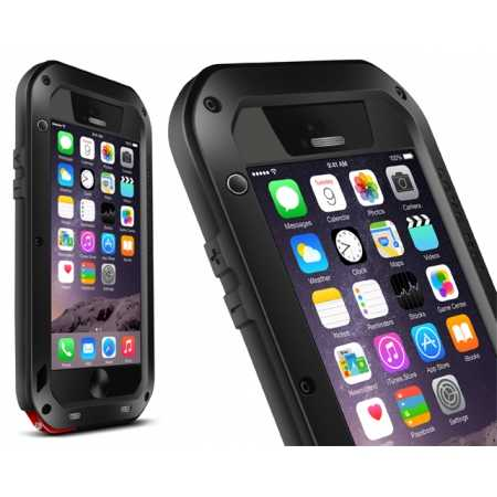 Waterproof Aluminum Gorilla Metal Case For iPhone 6 Plus/6S Plus 5.5inch - Black