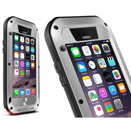 Waterproof Aluminum Gorilla Metal Case For iPhone 6 Plus/6S Plus 5.5inch - Silver