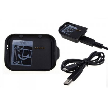 Charging Dock Cradle Power Charger Adapter For Samsung Gear 2 Neo R381 - Black