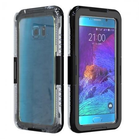 100% Waterproof Shockproof Dirt Proof Durable Case For Samsung Galaxy Note 5 - Black