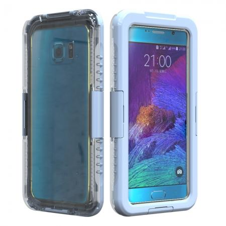 100% Waterproof Shockproof Dirt Proof Durable Case For Samsung Galaxy Note 5 - White