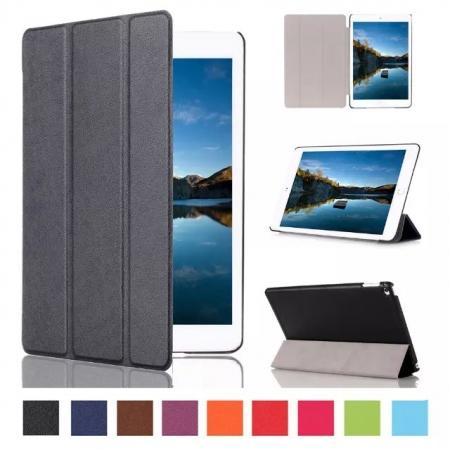 Ultra thin Smart 3-Folding Stand Leather Case For iPad mini 4 - Black