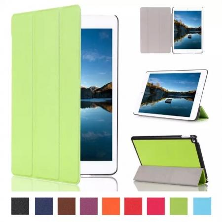 Ultra thin Smart 3-Folding Stand Leather Case For iPad mini 4 - Green
