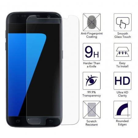 Premium Ultra Slim Tempered Glass Screen Protector Film For Samsung Galaxy S7